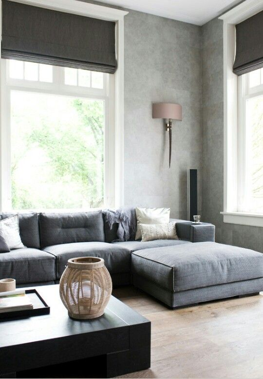 Minimalist but inviting. Add some small pops of color and it would be LOVELY!