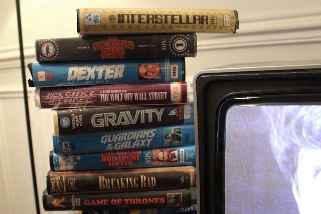 Series y películas actuales en VHS