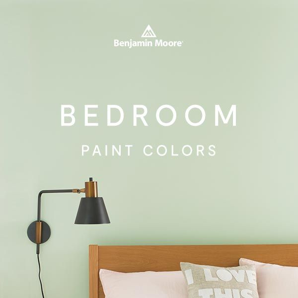 Bedroom Color Ideas Inspiration Benjamin Moore In 2021 Paint Colors