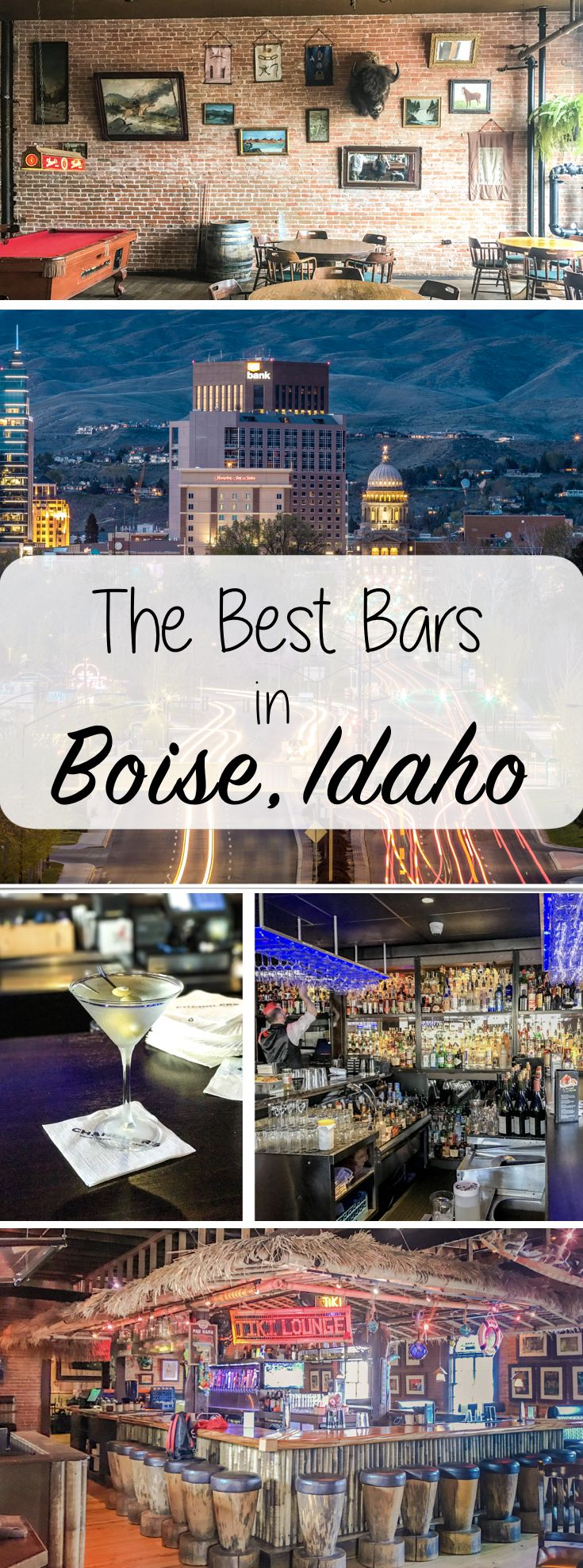 The Best Bars in Boise, Idaho. Idaho Travel Guide: Where to drink in downtown Boise.