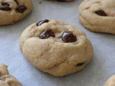 Biscuits faciles aux pépites de chocolat – sans beurre (utilisez de l'huile ou de l'huile de noix de coco)   – dessert
