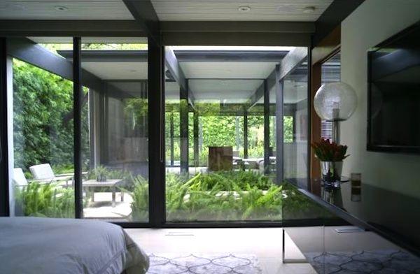41 best atriums courtyards for modern homes images on pinterest midcentury modern modern. Black Bedroom Furniture Sets. Home Design Ideas