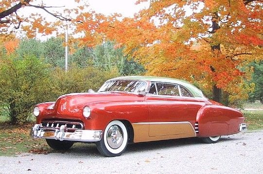 In the 1950's they changed the style of cars to a more luxurious looking vehicle.