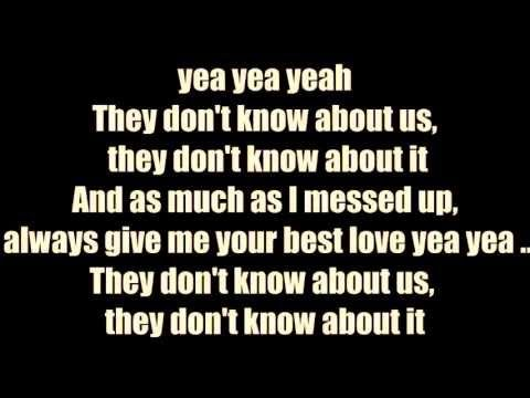 Chris Brown - don't think they know ft. aaliyah [Lyrics] - YouTube