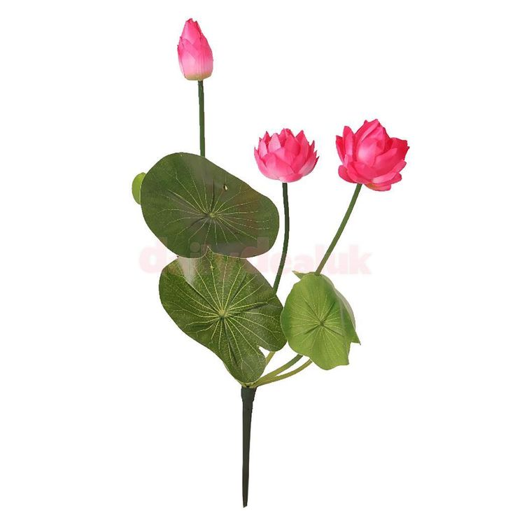 1 Bunch Artificial Flowers Silk Plant Branch Wedding Garden Home Decor Rosy