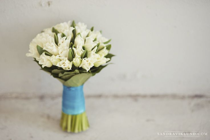 Tulips Bride Wedding Bouquet