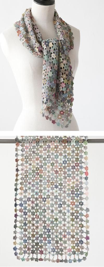 Sophie Digard crochet scarf...inspiration only