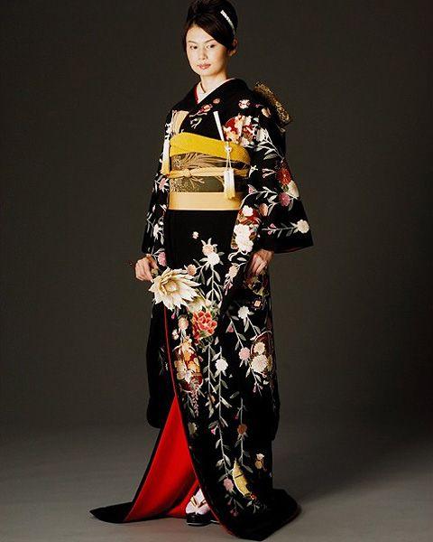 Kimono rental for wedding.
