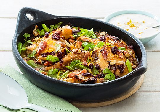 Citrus and Cranberry Chicken