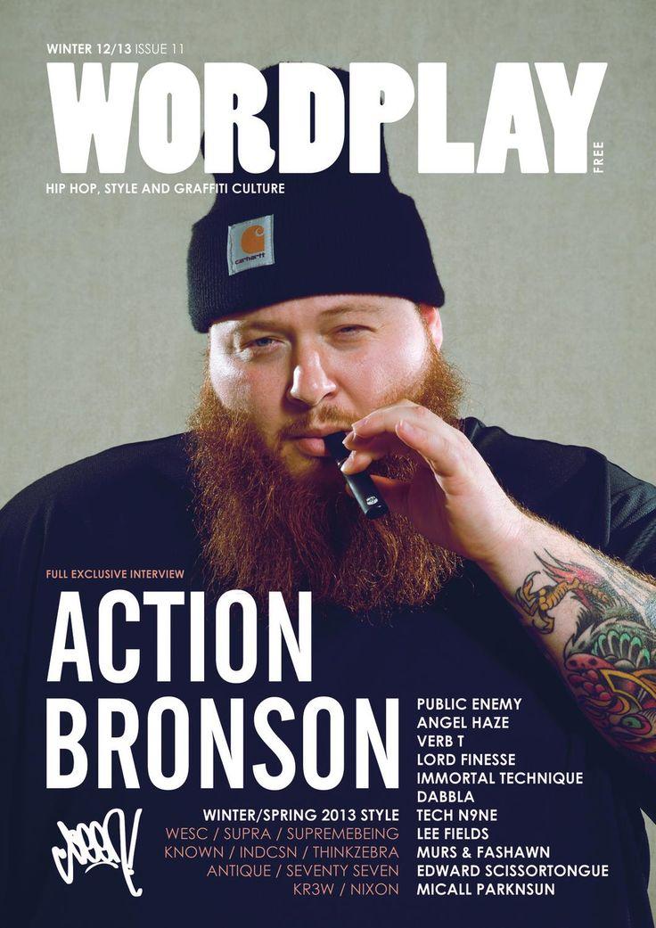 Wordplay magazine 11  Wordplay magazine issue 11, UK hip hop, graffiti and street culture.  Featuring Action