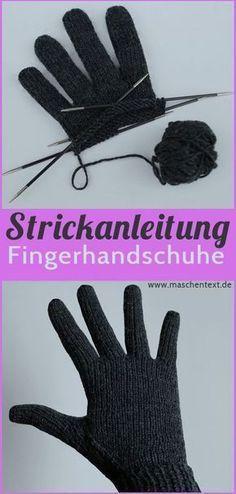 Perfekt passende Fingerhandschuhe stricken | Gratisanleitung auf Deutsch // Strickanleitung // Handschuhe // Merino // kostenlose Anleitung