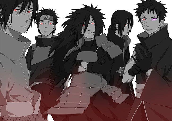 Naruto Uchiha Clan Illustration Anime Itachi Uchiha Madara Uchiha Hd Wallpaper Madara Uchiha Itachi Uchiha Uchiha