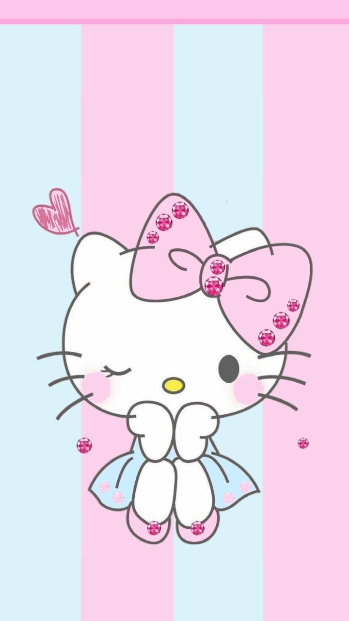 Helo Kitty Cats And Kittens In 2020 Hello Kitty Pictures Hello Kitty Backgrounds Hello Kitty Art