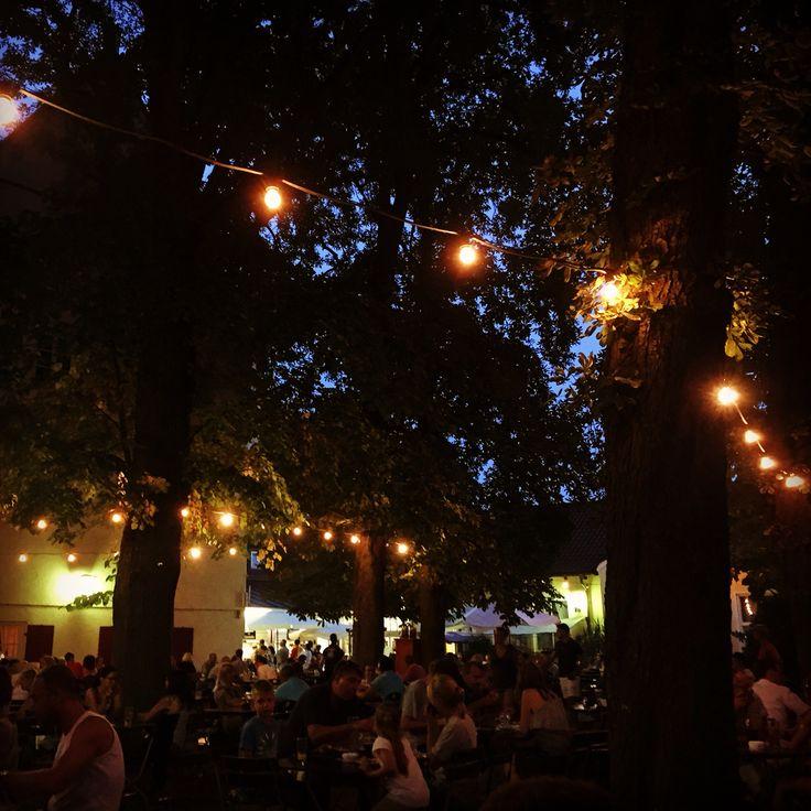 Biergartenidylle in Neu-Ulm! #bayern #bier #bavaria #Germany