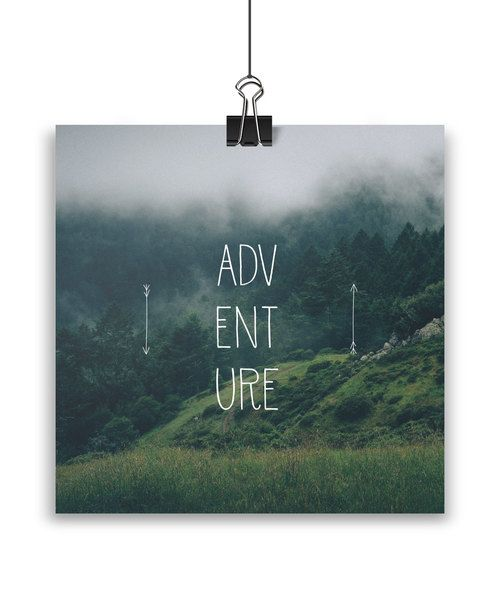 Adventure print by Away from the city