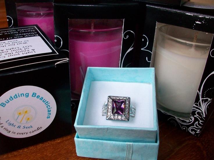 Light & Seek SOY Candles, by Budding Beauticians.  Black Raspberry Vanilla, Lime & Grapefruit, Cinnamon Vanilla, Peppermint Vanilla, Mango & Papaya...