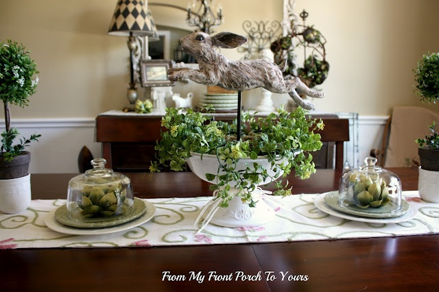 Pamela Found This Beautiful Spring Table Runner At