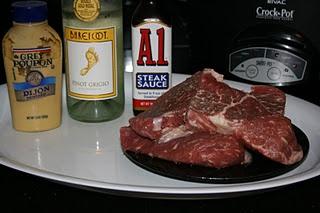 crockpot steak recipe