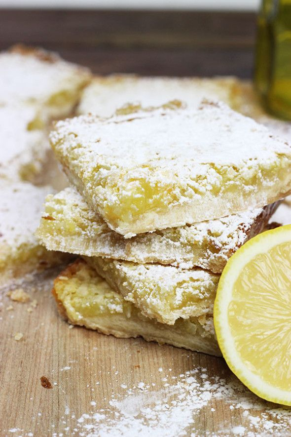 Lemon-Coconut Tofu Squares Recipe — Dishmaps