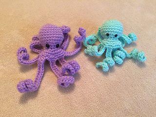 Amigurumi Octopus Mohu : 329 best crochet jelly fish squid octopus images on pinterest
