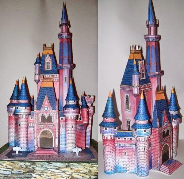 Vintage Disney Cinderella Castle