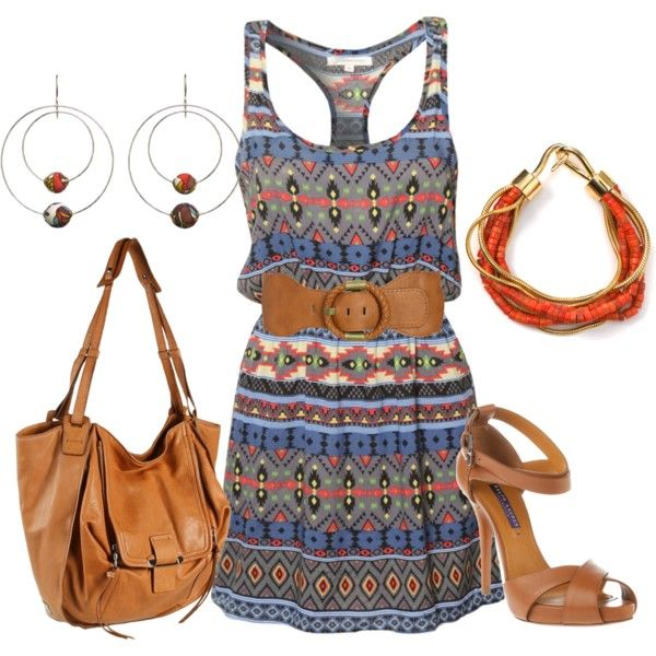 """Aztec"" by angeliquemimms on Polyvore"