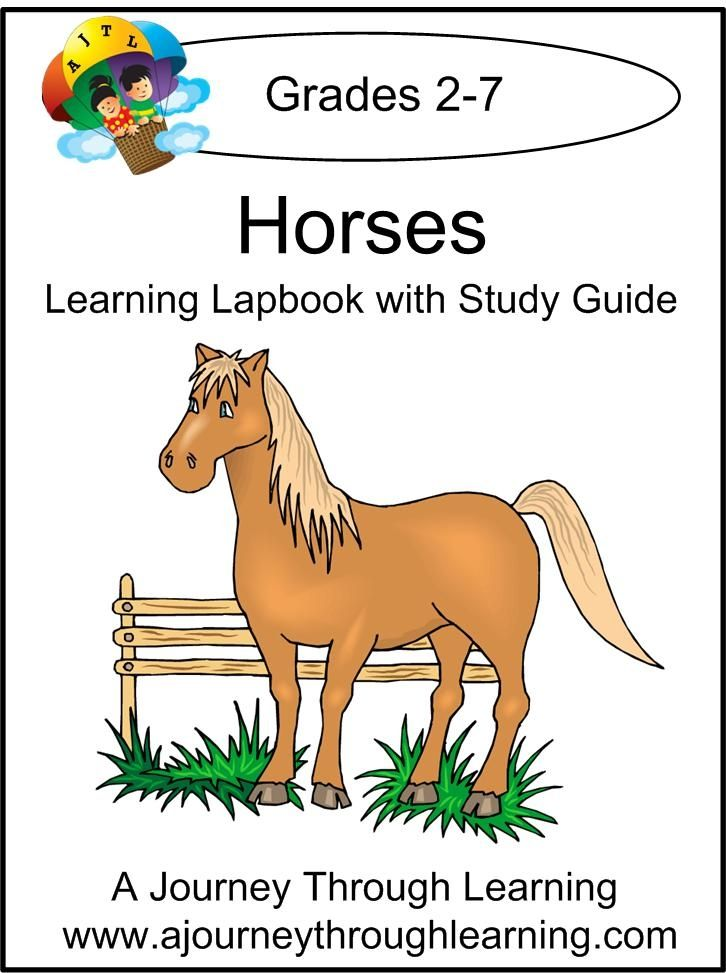 Free Horses Lapbook with Study Guide (save $8.00!)