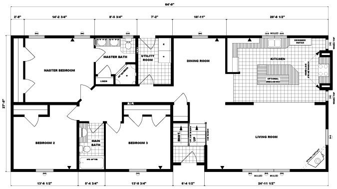 Modern raised ranch floor plans gurus floor for Modern raised ranch house plans