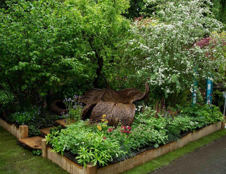 The finished garden #BreastCancerHavenGarden