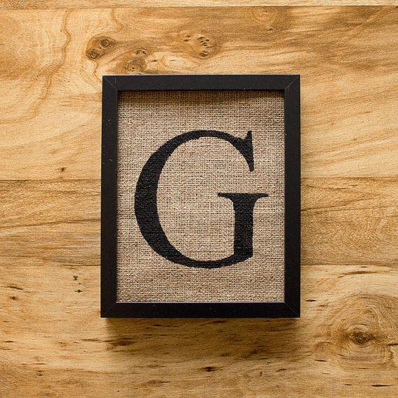 GArt Monograms, 20 00, 2000 Usd, Burlap Wall Decor, Decor Alphabet, Sales Letters, Alphabet Art
