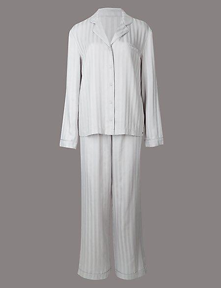 Striped Long Sleeve Pyjamas