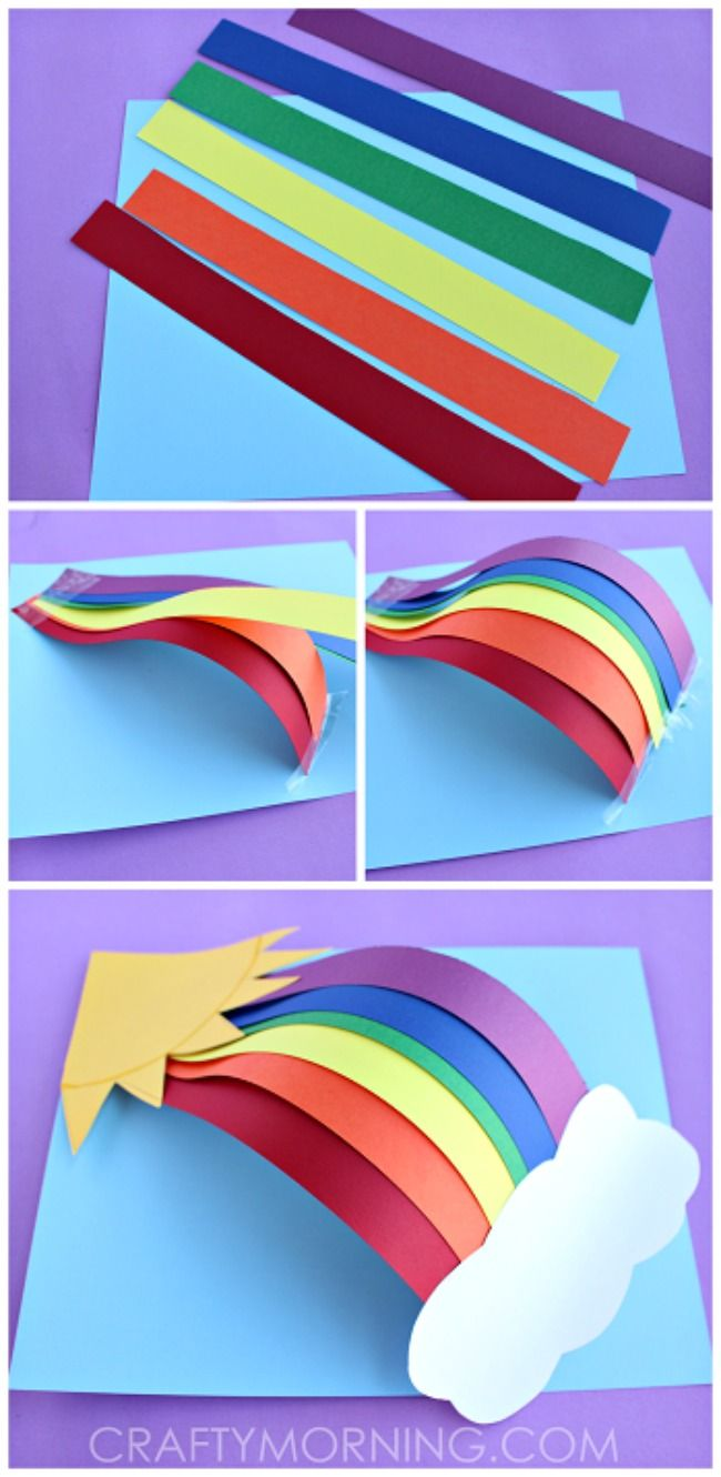 Here are the 11 Best Rainbow Crafts for Kids. They're sure to keep them busy and cheerful all year long!