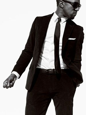 kanye west! One of my favorite rappers ever! He may be a douche but he's amazing at what he does!