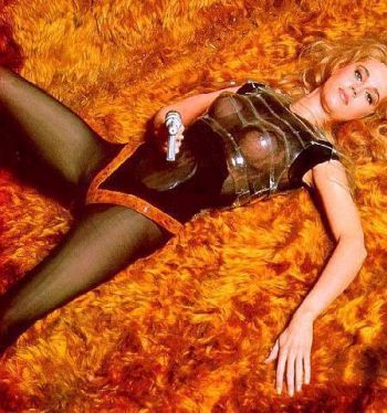 "Jane Fonda promo shot for ""Barbarella"""