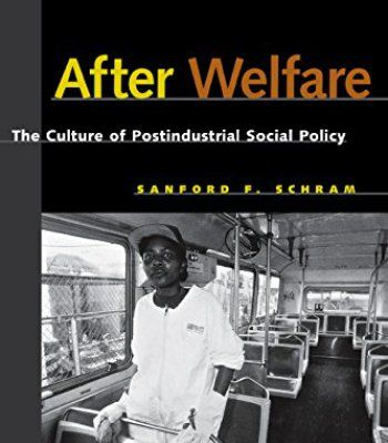 After Welfare: The Culture of Postindustrial Social Policy PDF