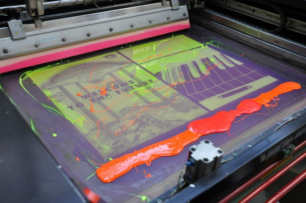 how to make screen printing at home