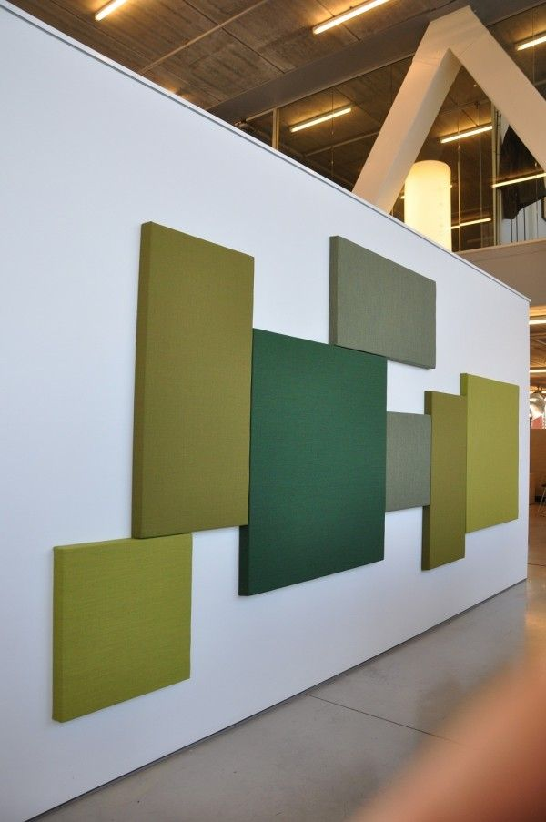 Acoustipanels - akoestische wandpanelen (design by Drisag)