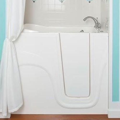Accidents often happen when seniors enter and exit a shower or bathtub. Fortunately, walk-in shower tubs can be installed to prevent slips and falls. These bathtubs can greatly improve safety for seniors while bathing, especially if they live alone and suffer from limited mobility. If you are worried about bathroom safety in your home or a loved one's home, you may want to consider getting a walk-in shower tub in Covington.