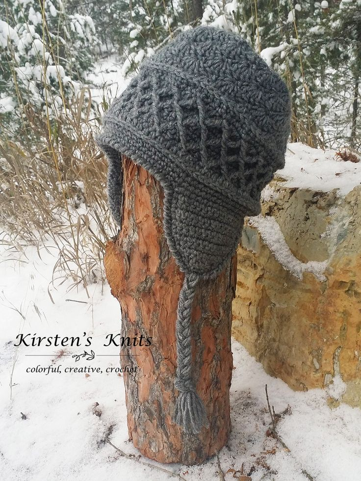 This free ski hat pattern will have you looking stylish on the slopes, or in the lodge this winter.
