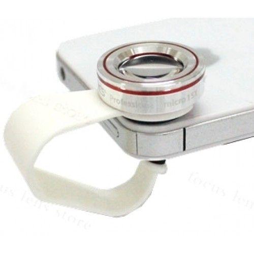 Makró lencse telefonra - 15X - csipeszes mobiltelefonra, táblagépre