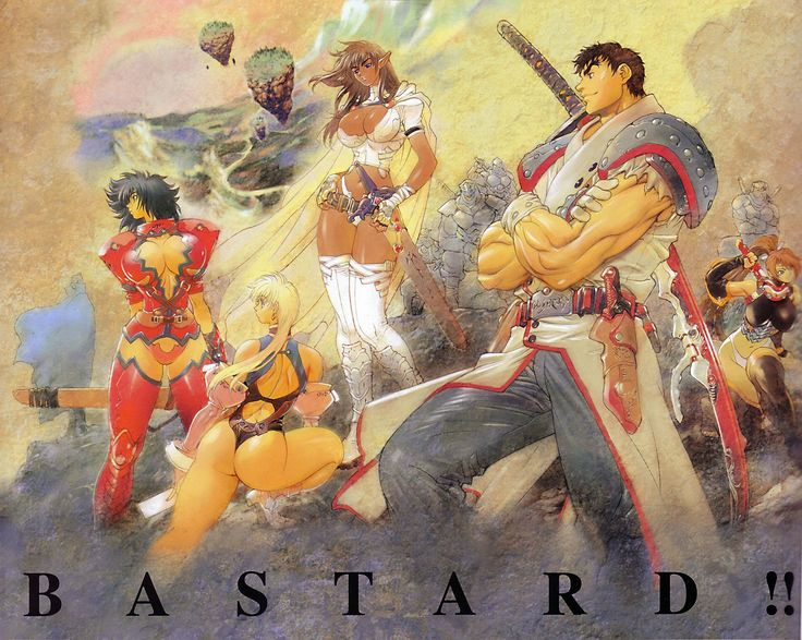 Bastard!! with Arshes Nei, Sean Ari, Gara, and Kai Harn