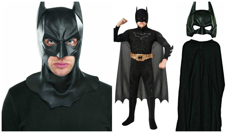batman mask and cape