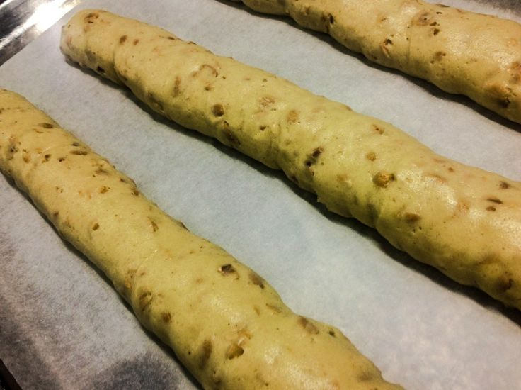 How to makes biscotti !  Recipes