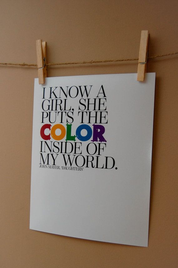 Daughters 8x10 Digital Typography Print by intricatechaos on Etsy,