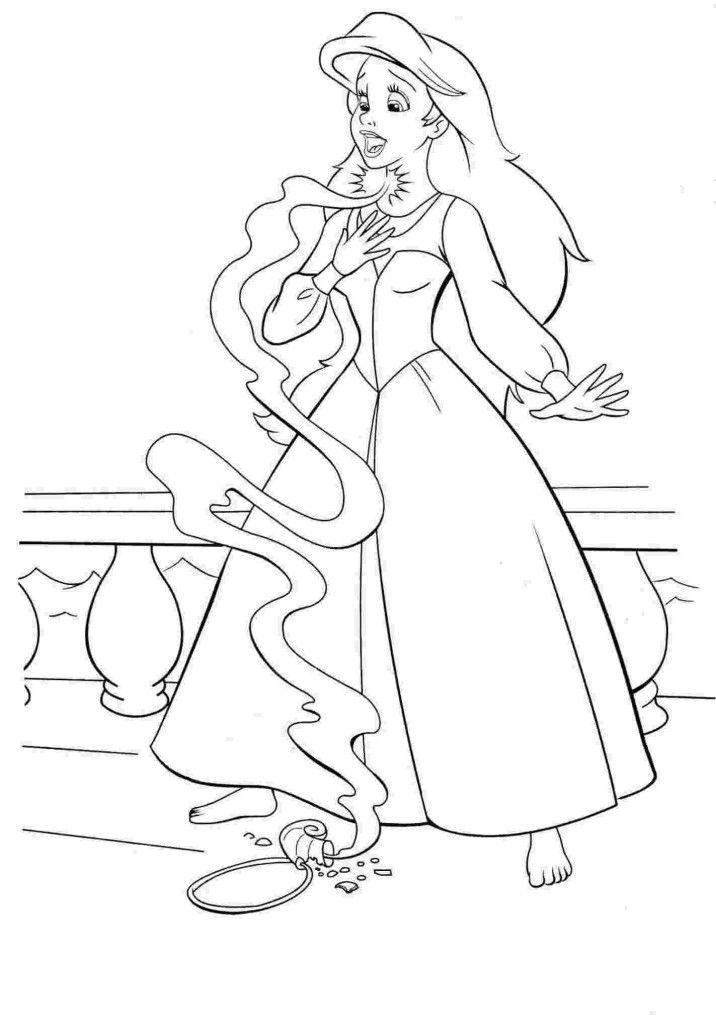Ausmalbilder Prinzessinnen Disney