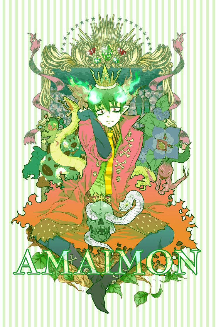 Amaimon, Demon King of Earth