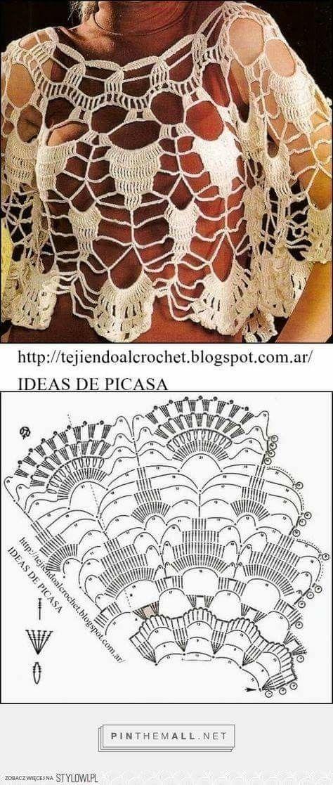 Pin de อรุณรัตน์ en 0 | Pinterest | Croché, Ganchillo y Chal de ...
