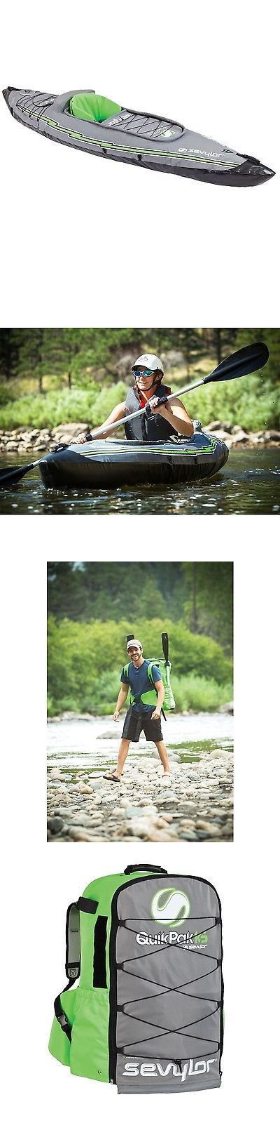 Kayaks 36122: Sevylor Quikpak K5 1-Person Kayak -> BUY IT NOW ONLY: $237.16 on eBay!