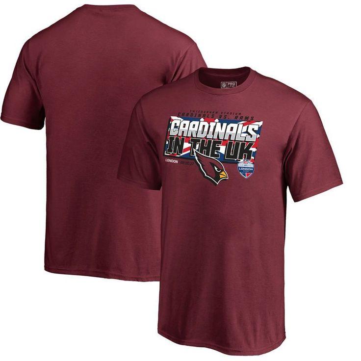 Arizona Cardinals Fanatics Branded Youth 2017 NFL London Game T-Shirt - Garnet https://www.fanprint.com/licenses/arizona-cardinals?ref=5750