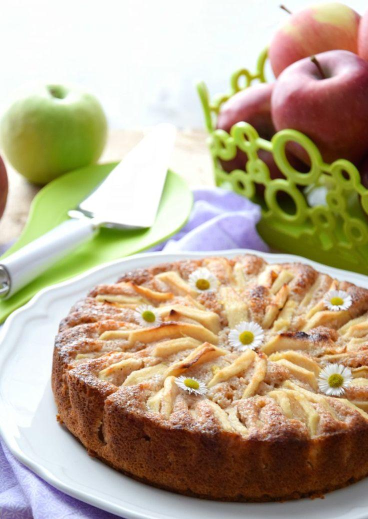 Torta di mele… Senza glutine, lattosio, uova e zucchero – In cucina con Giada e Sara